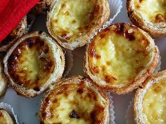 Portuguese pastel da nata