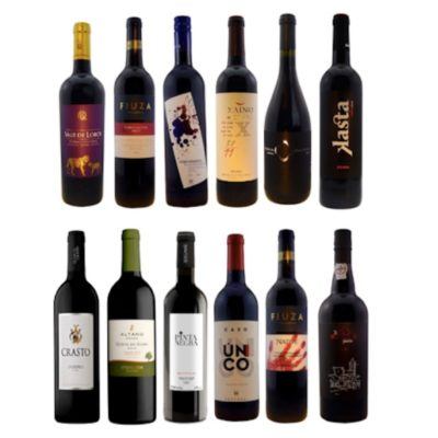 Case of 12 assorted Portuguese red wines