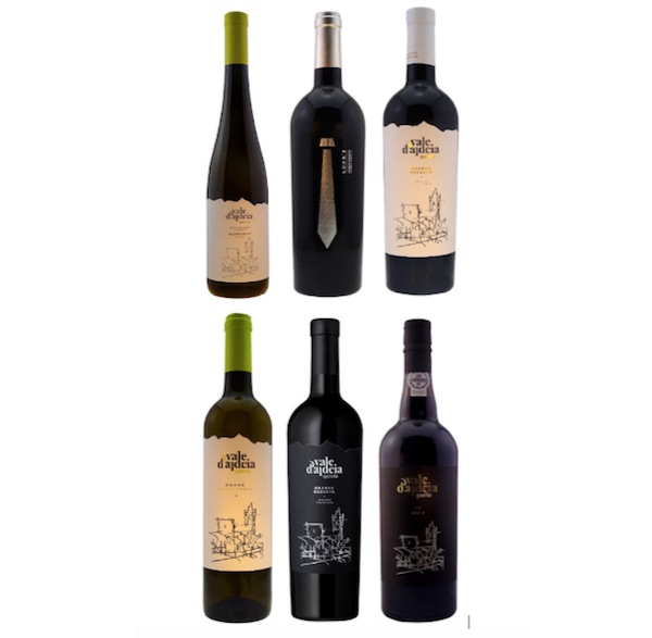 Selection of six wines from the Quinta Vale d'Aldeia