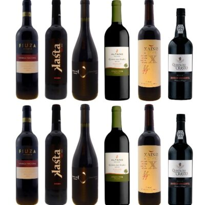 Selection of Portuguese red wines