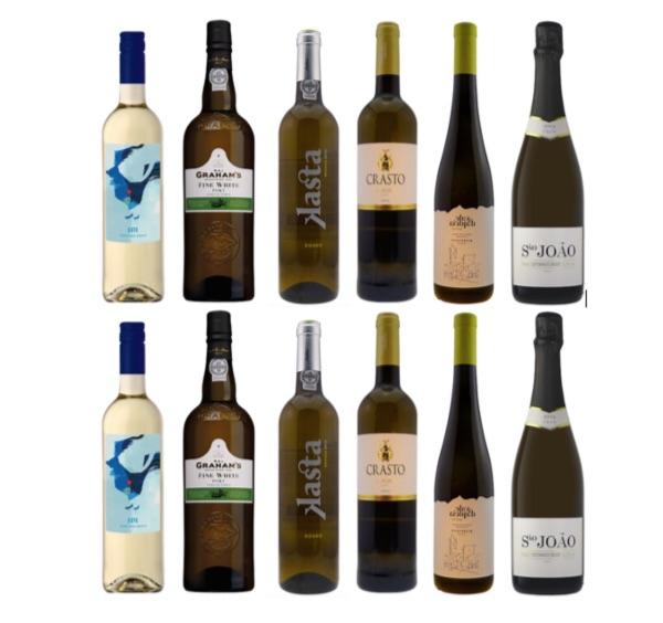 Case of Portuguese white wines