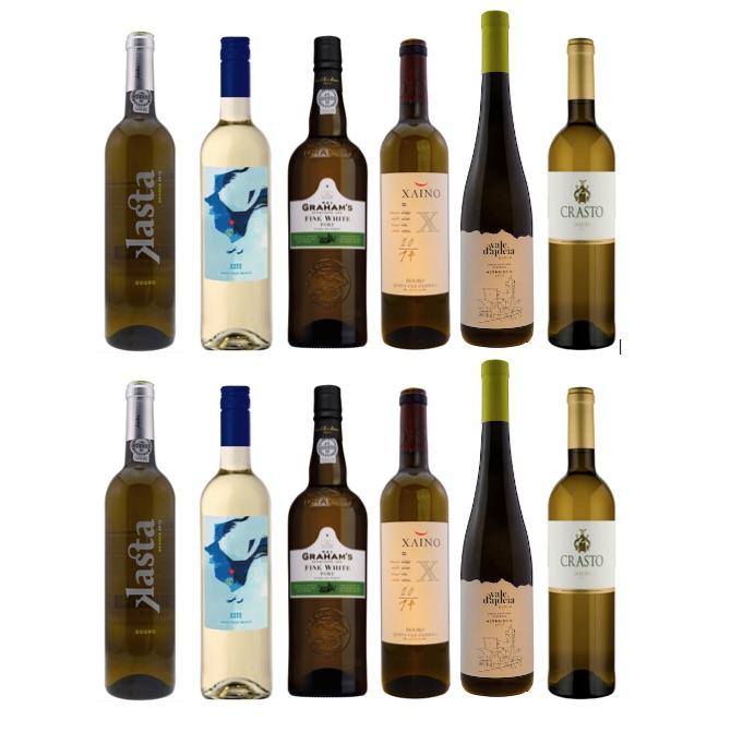 Mixed case of Portuguese white wine