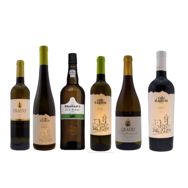 Case of 6 quality Portuguese white wines